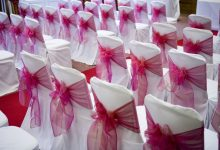 A Guide to Beautiful Wedding Chair Sashes and Bows