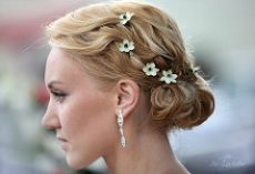Hair Piece Ideas for Bridesmaids