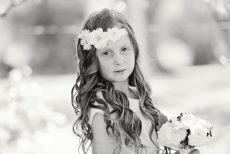 Hairstyle ideas for flower girls