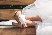 What every Bride should know about high heeled shoes