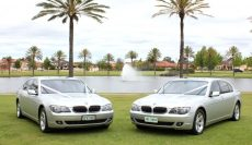 2 x BMW with Ribbon