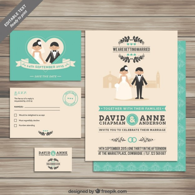 collection-of-wedding-invitations_23-2147507876