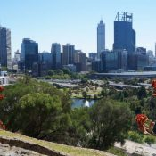 Business Centre of Perth, seen from Kings Park