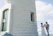 Rob & Anne-Marie tie the knot on Rottnest Island