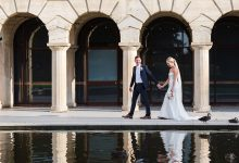 UWA makes for a stunning backdrop at Kristy & Kyle's Matilda Bay wedding