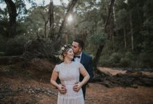 Stevie & Jay find the perfect place in Dwellingup for a DIY bush wedding