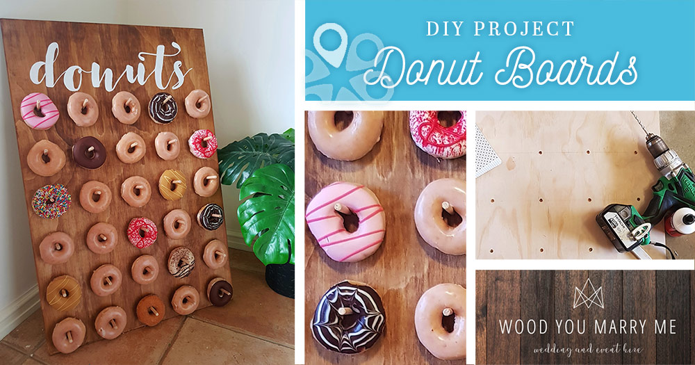 Here S A Donut Board Project You Ll Want At Your Own Wedding