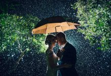 These Brides didn't care about rain on their Wedding Day and neither should you