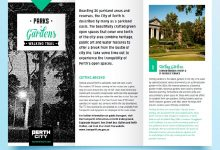 Printable City of Perth Parks Guide for Ceremonies & Romance