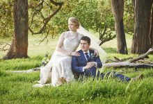 Rolling Hills and Ocean Views at Kacie & Justin's Rustic Wedding in the South West