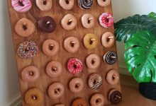 Here's a Donut Board Project You'll Want at Your own Wedding